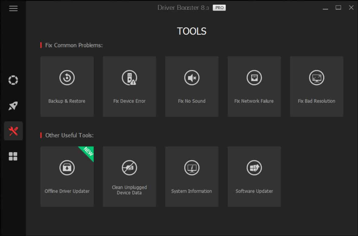 Driver Updater iObit Driver Booster v8.3.0