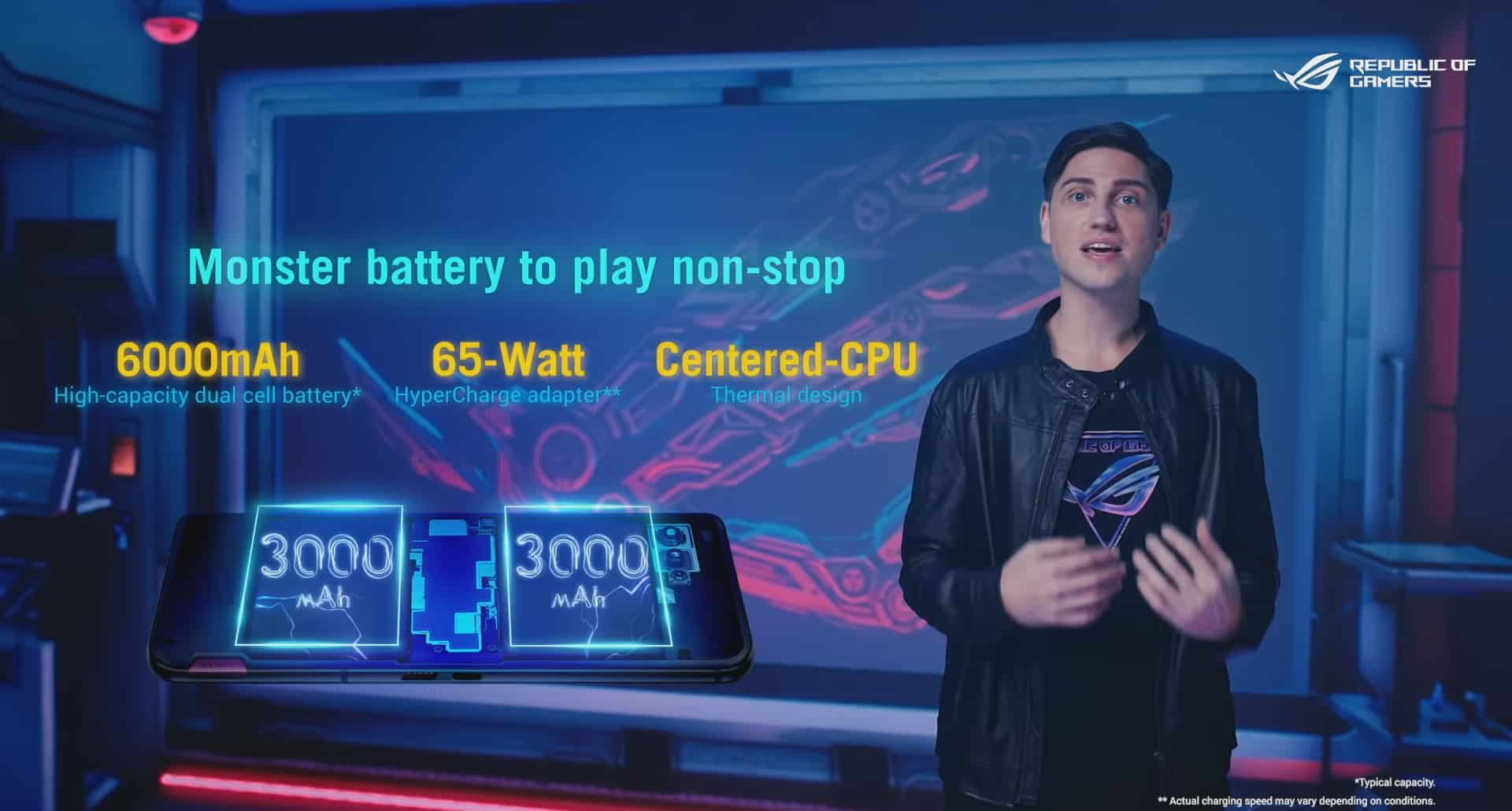 Baterai ROG Phone 5