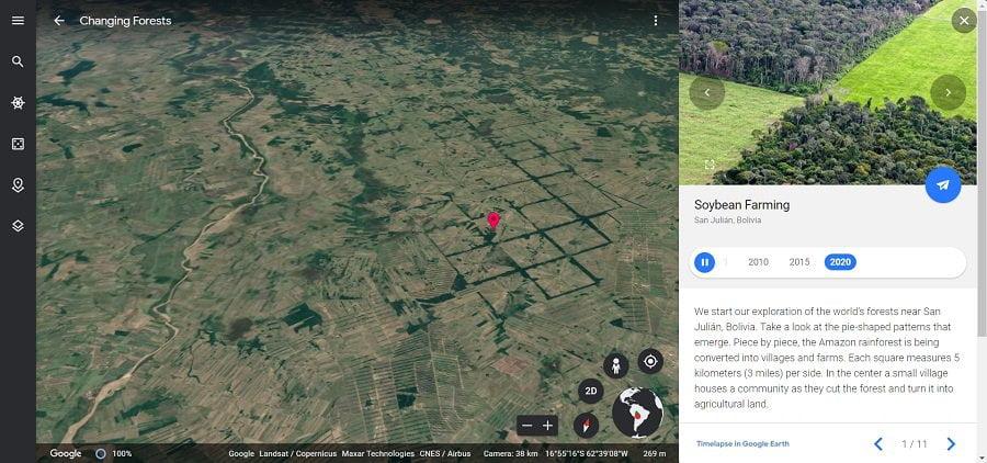 Hutan Bolivia Tahun 2020