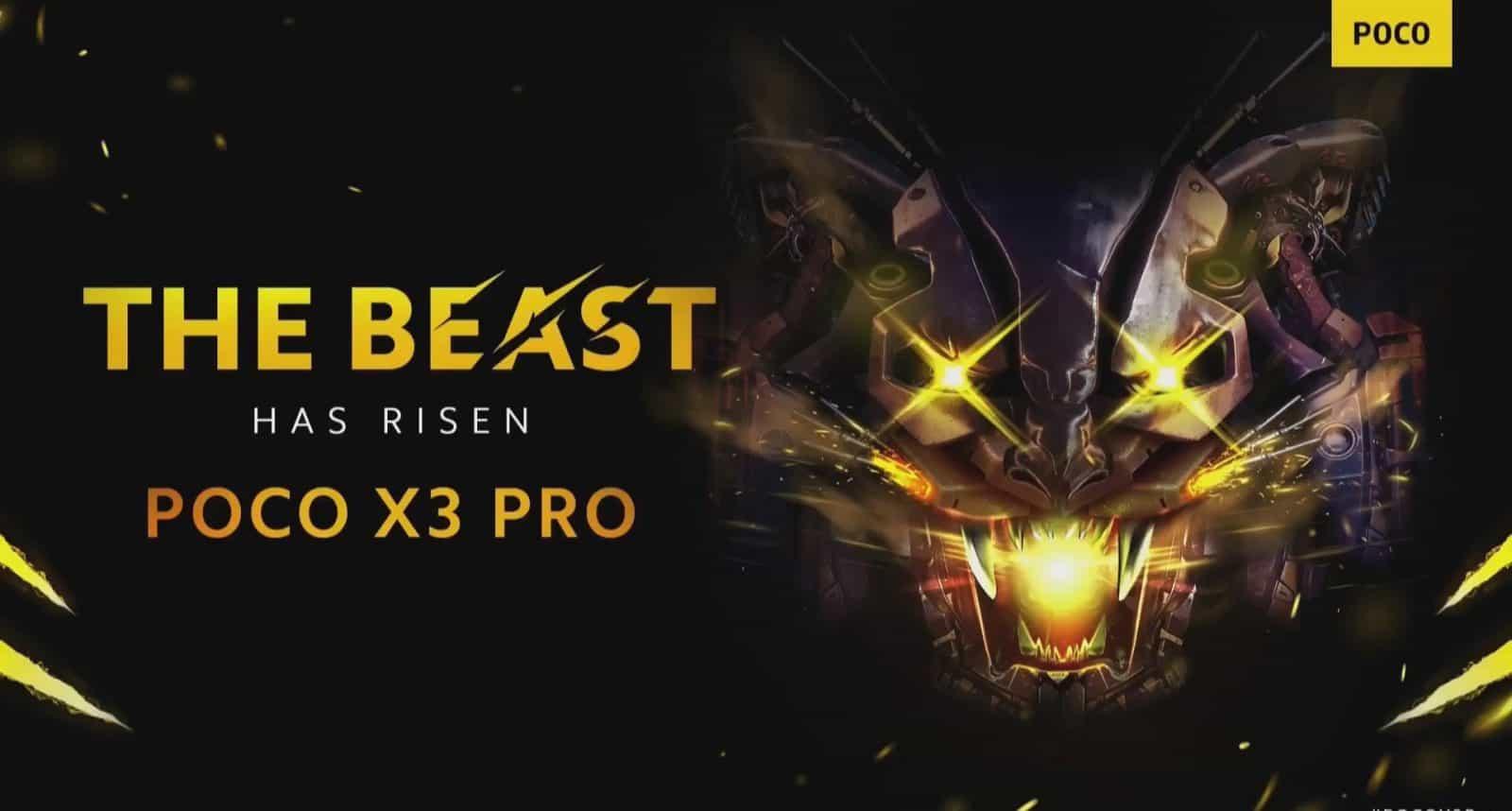 POCO X3 Pro Banner