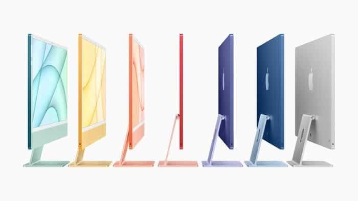 Tujuh Warna iMac 2021