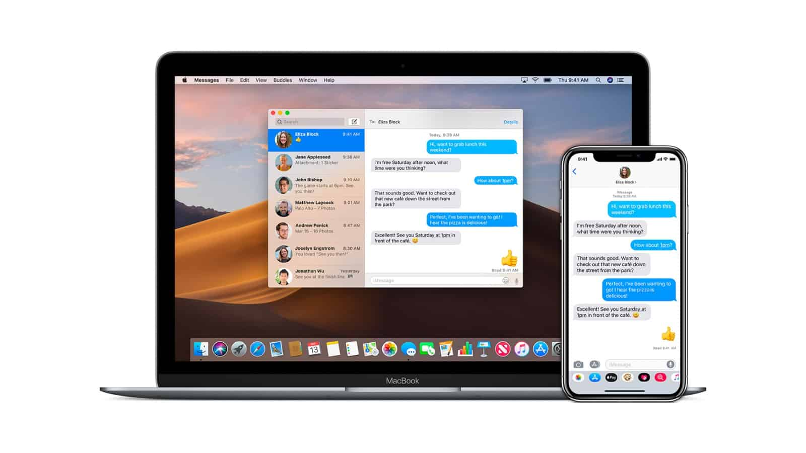 iMessage di iPhone dan Macbook