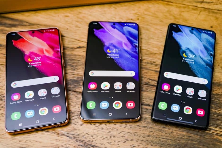 Lini Samsung Galaxy S21