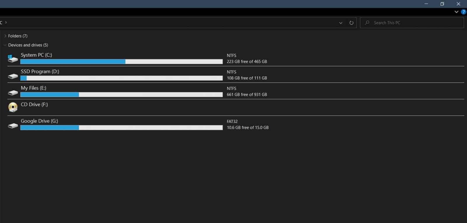 Cara Menambah Google Drive ke PC