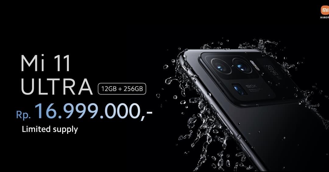 Harga Xiaomi Mi 11 Ultra Indonesia