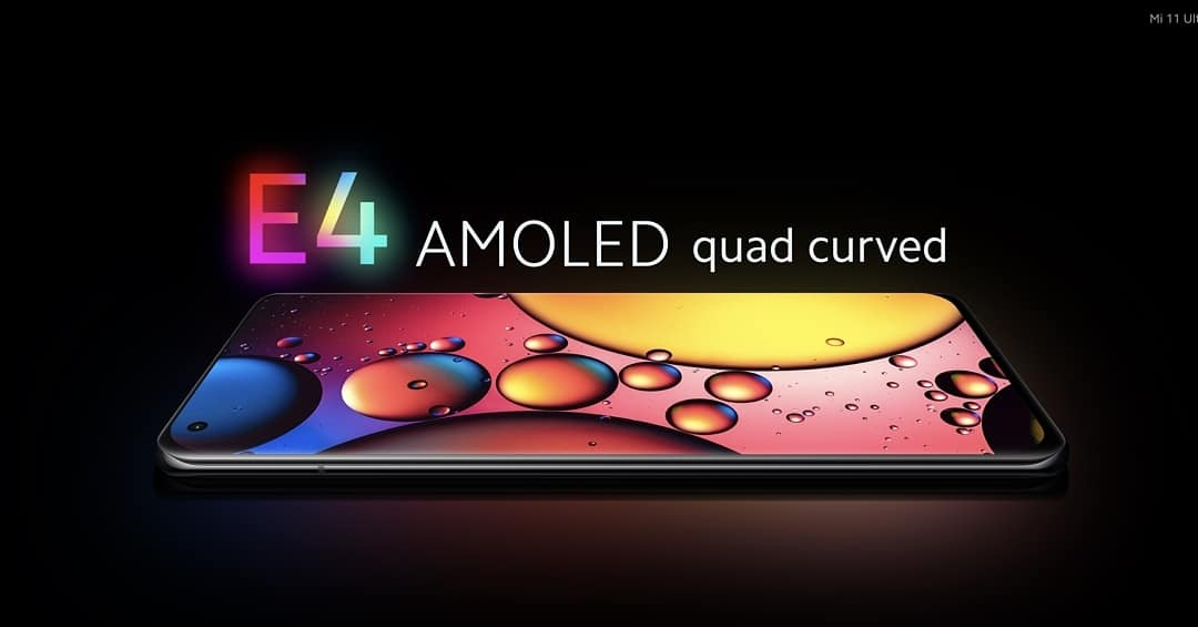 Layar Xiaomi Mi 11 Ultra