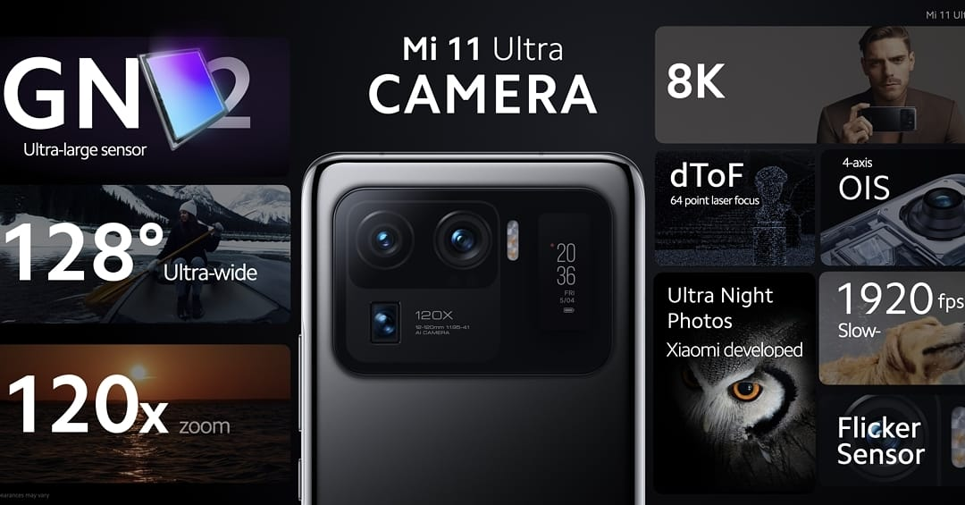 Spesifikasi Kamera Xiaomi Mi 11 Ultra