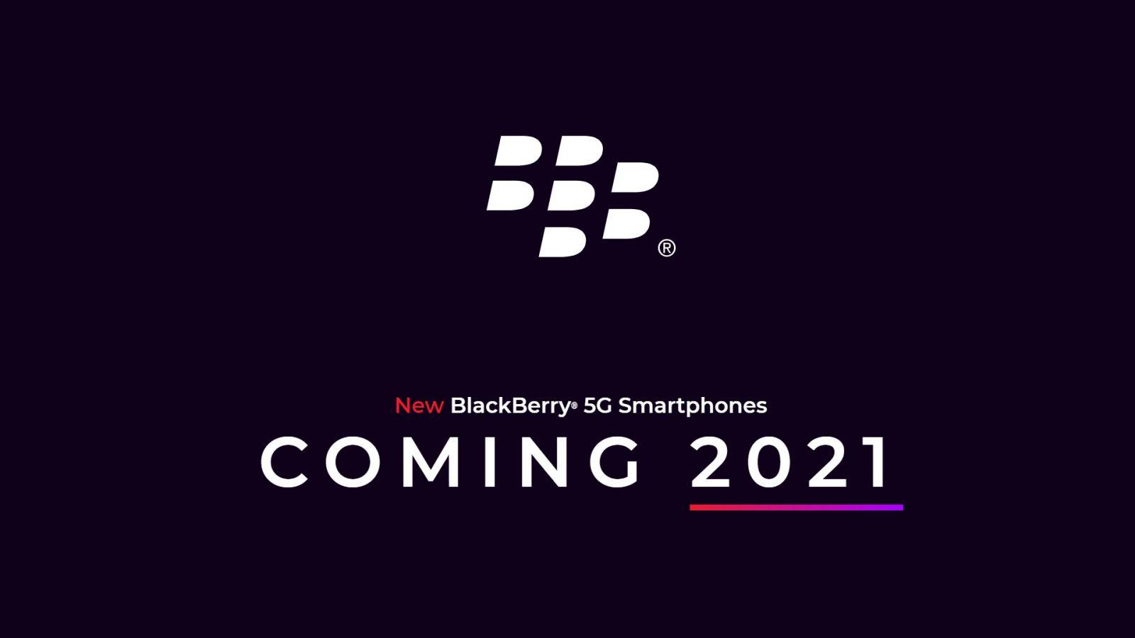 Teaser BlackBerry 5G