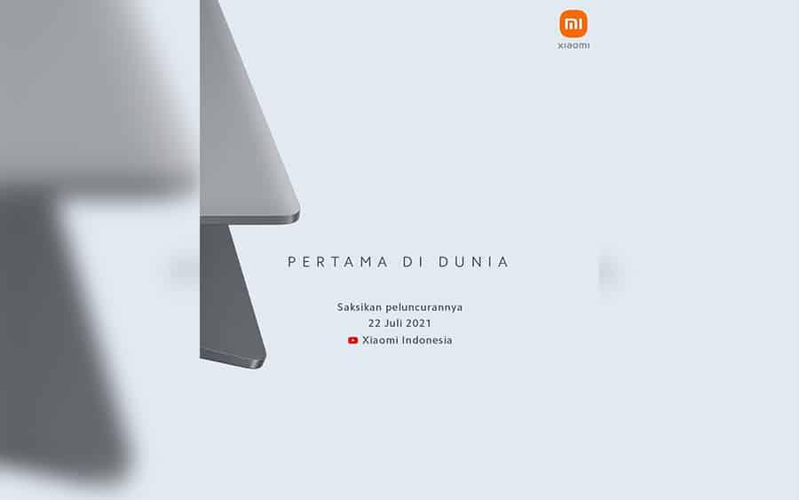 Teaser Laptop Xiaomi di Indonesia