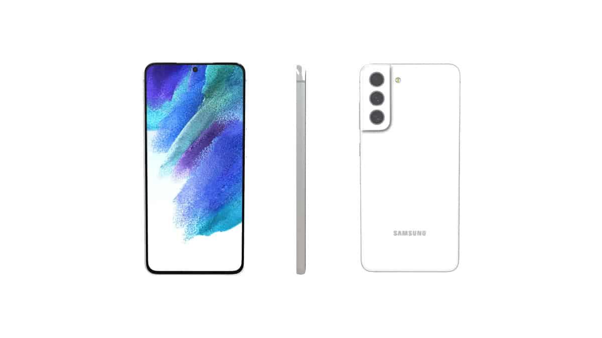 Render 3D Galaxy S21 FE
