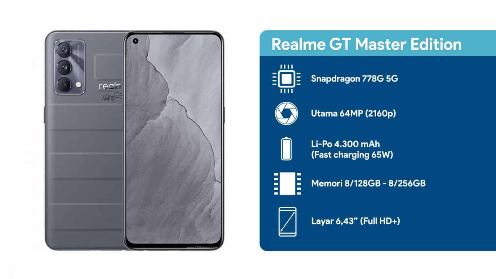 Spesifikasi Realme GT Master Edition