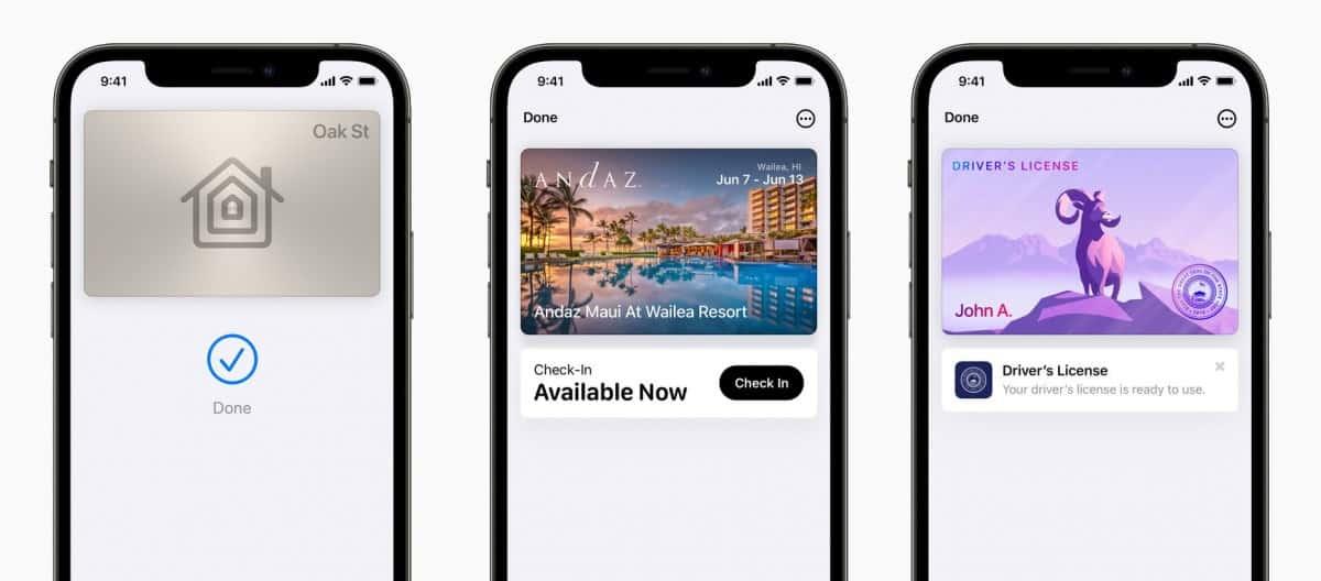 Apple Wallet iOS 15