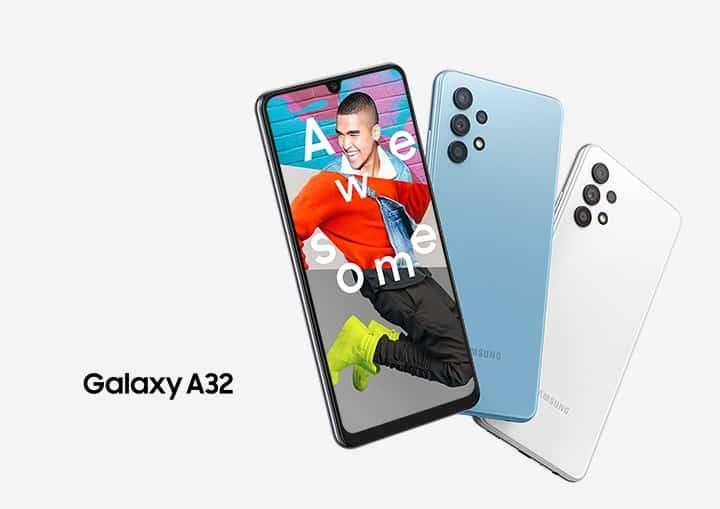 Banner Samsung Galaxy A32Banner Samsung Galaxy A32