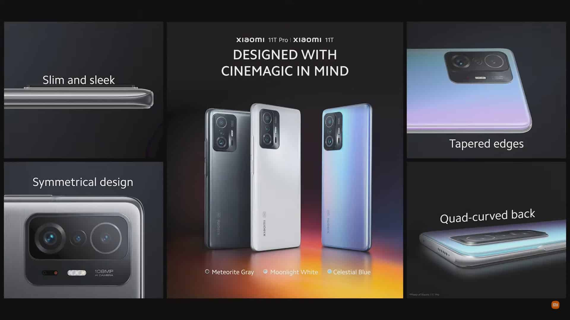 Desain Bodi Xiaomi 11T dan 11T Pro
