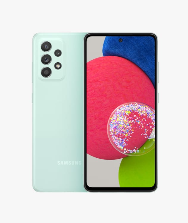 Galaxy A52s Warna Awesome Mint
