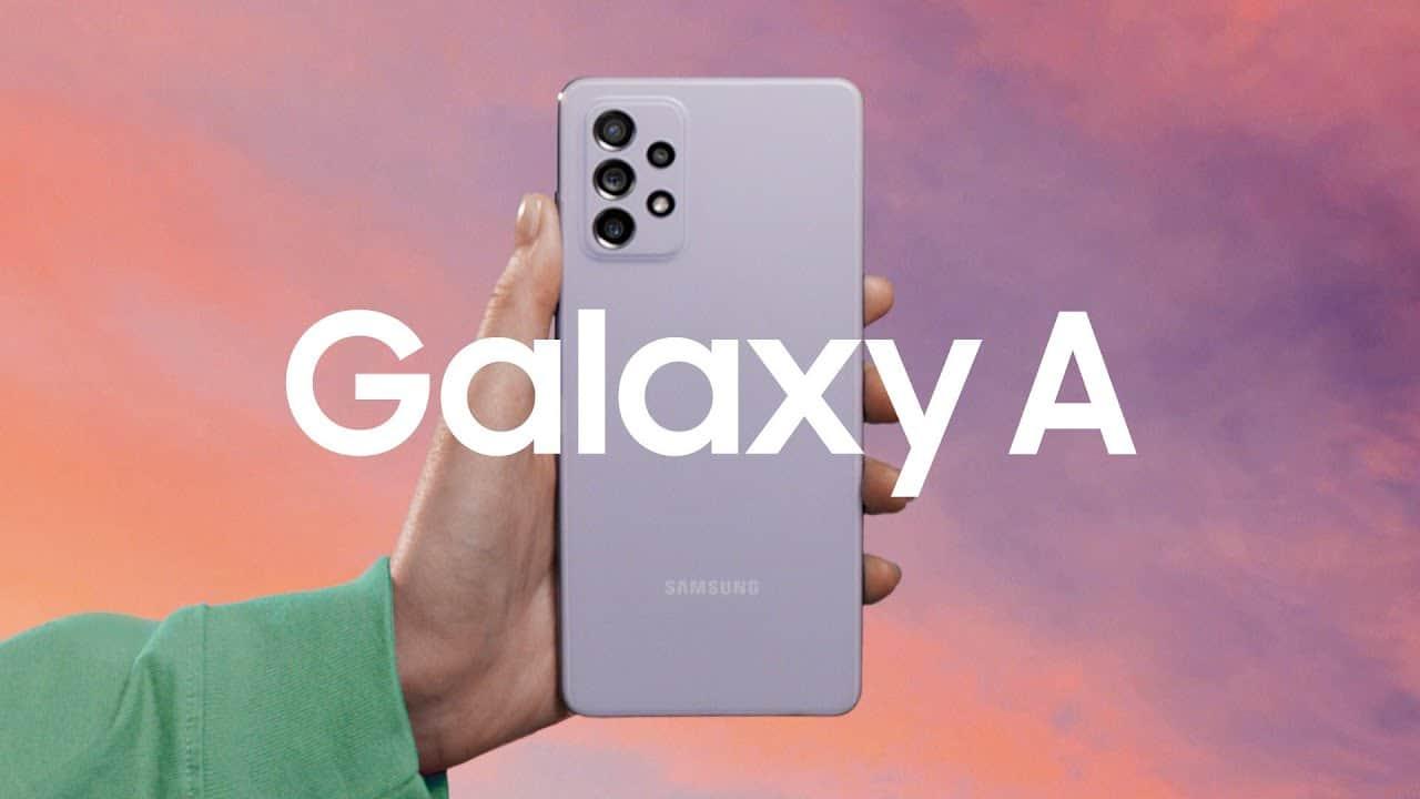 Banner Samsung Galaxy A