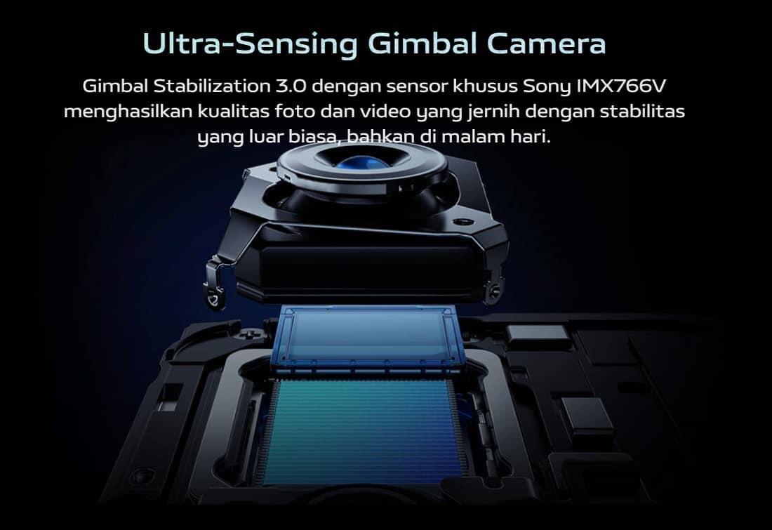 Ultra Sensing Gimbal Camera